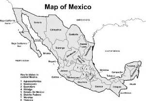printable map us mexico best photos of black white printable world maps mexico