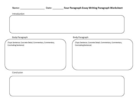 paragraph structure worksheet writing worksheets paragraph writing worksheets