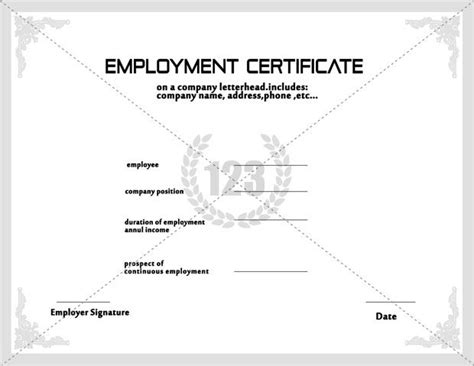 7 best images about employee certificate on pinterest
