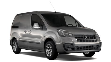 peugeot van 2017 peugeot partner van l1 2slidedoors 2017 3d model buy