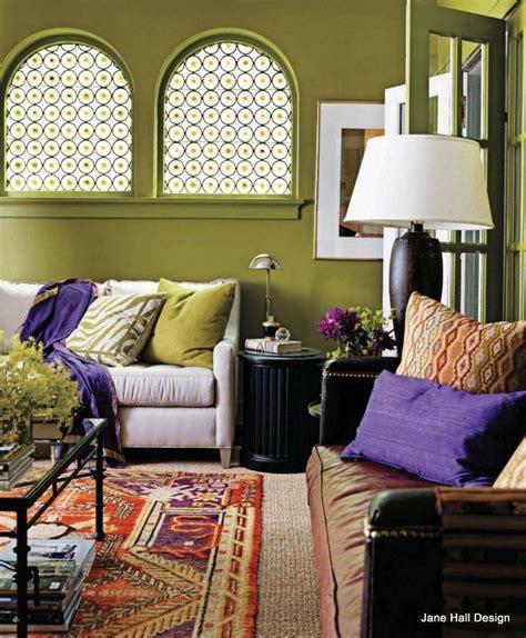 boho colors boho color schemes bohemian style living room with moss