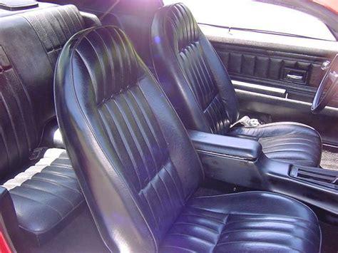 nova upholstery front bucket seats chevy nova forum