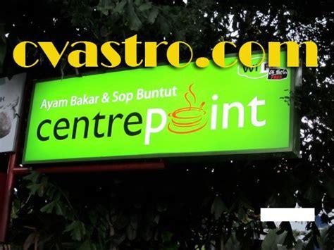 Cat Akrilik Asturo neon box reklame astro synergy