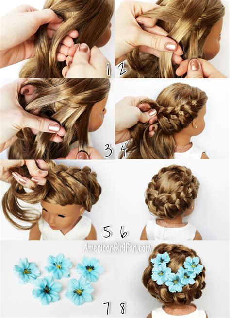 americangirlfan doll hairstyles american girl doll hairstyles step by hairstyles