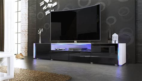 mobile soggiorno bianco casanova porta tv moderno mobile soggiorno bianco con led