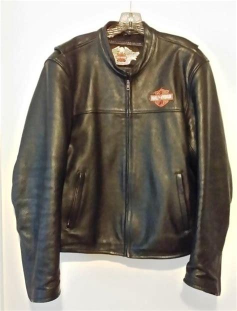 Jaket Vest Rompi Harley Davidson 02 harley leather jacket black leather vest large
