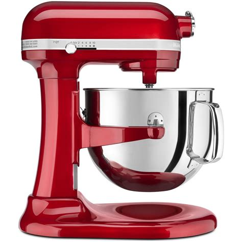 kitchen aid mixer kitchenaid proline 7 quart mixer candy apple red
