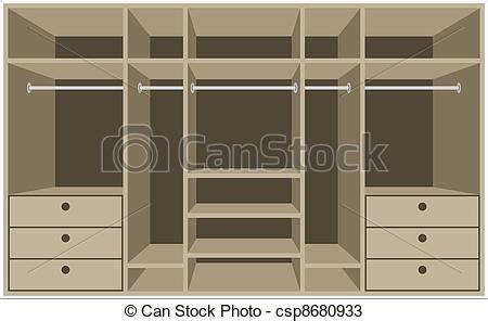 guardarropa habitacion vectores de guardarropa habitaci 243 n muebles vector