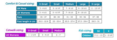 shoe size chart south africa buy orthotic insoles on line footlogics south africa