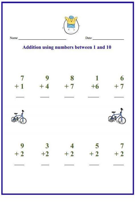 preschool math worksheets free printables for 4