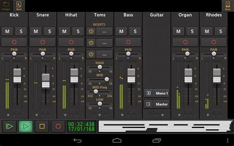 free recording studio app for android audio evolution mobile demo android apps on play