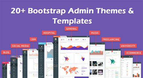 bootstrap themes and templates 20 bootstrap admin themes templates free premium