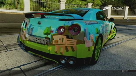 minecraft sports car fancy your sports car painted minecraft style
