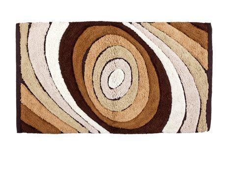 tappeto bagno marrone tappeto da bagno drops marrone 50x80