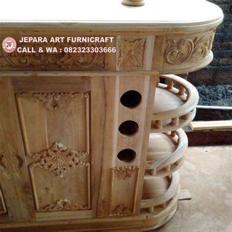 Set Kursi Bar Jati menarik dan terbaru set meja kursi bar ukir jati