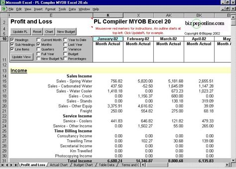 Free Online Home Remodeling Software import myob into excel format profit and loss data from myob