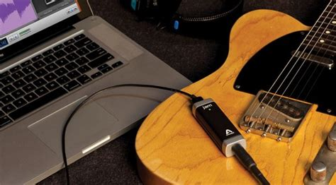 Garageband Electric Guitar Jam Guitar Input For Mac And Ios Devices Gets Your Axe