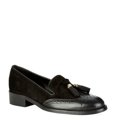carvela loafers carvela kurt geiger louis tassel loafer in black