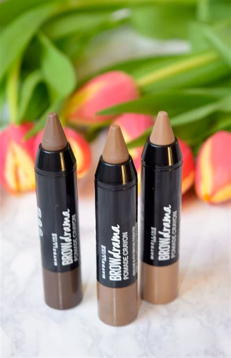 Maybelline Brow Pomade Crayon maybelline brow drama pomade crayon review archives the luxe list