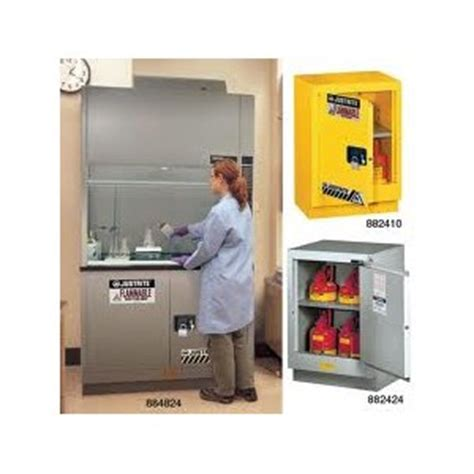 Lemari Flammable indonesia supply jual lemari asam laboratorium justrite fume safety cabinet