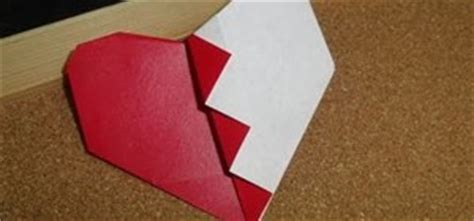 Broken Origami - how to craft an easy s day folded
