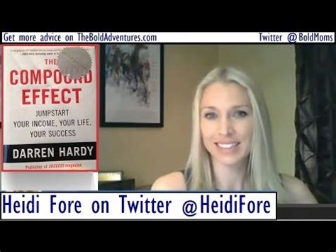 heidi book report book review of quot the compound effect quot heidi fore reports