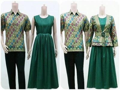 desain baju batik sarimbit desain baju terbaru untuk wanita pria dan remaja ragam