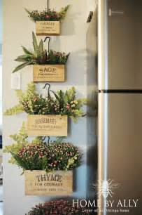 Herb Boxes decor steals herb boxes filled with mums farmhouse fall home tour