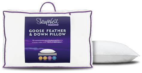 Buy Sleepwell Pillow by Slumberdown Sleepwell Goose Feather And Pillows Bogof