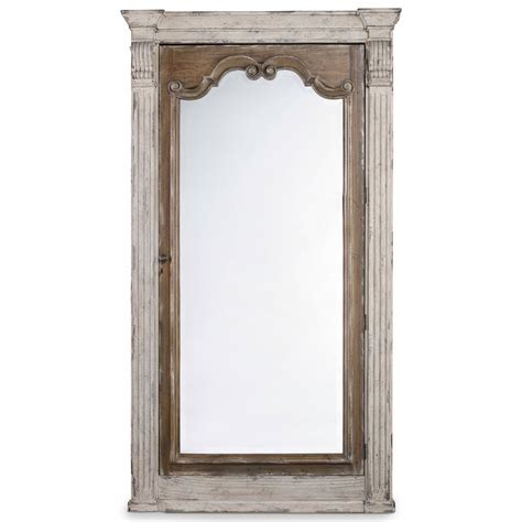 hooker furniture chatelet floor mirror with jewelry
