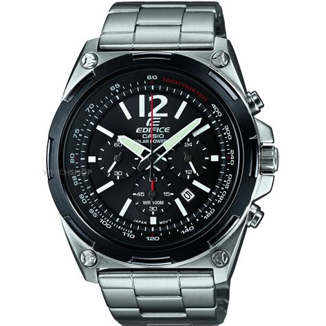 Casio Solar by Casio Edifice Solar Powered Chronograph Gents Efr