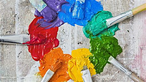 painting colours color wheel chart for paint colors selection