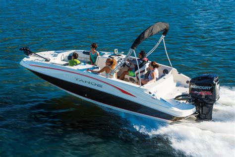 tahoe boats build tahoe boats deck boats 2016 2150 outboard photo gallery