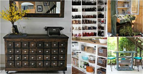 genius ideas  repurposing  bookcases