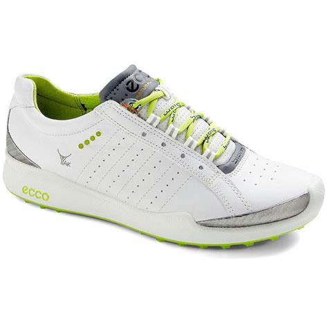ecco biom hybrid sport golf shoes womens white lime at