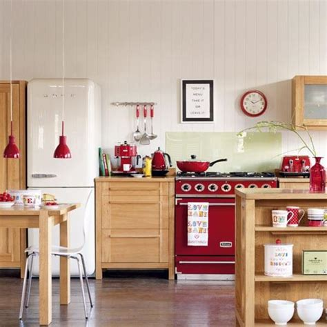 kitchen decorating ideas with red accents 25 stunning red kitchen design and decorating ideas