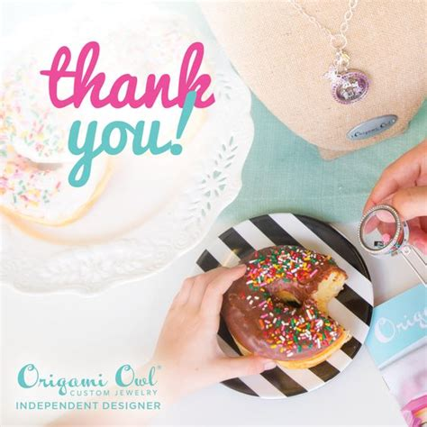 Origami Owl Thank You - origami and thank you for on