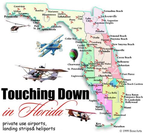 florida airport map absolutely florida aviation interactive map of airports
