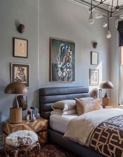 chic  trendy mid century modern bedroom designs