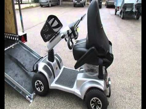 porta scooter per auto rimorchio porta scooter per disabili