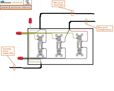 wiring diagram 3 light switch wiring wiring
