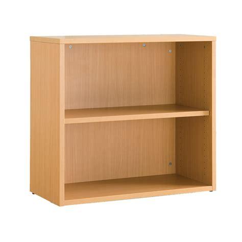 Rak Buku Standar warna oak satu rak disesuaikan rendah rak buku terbuka