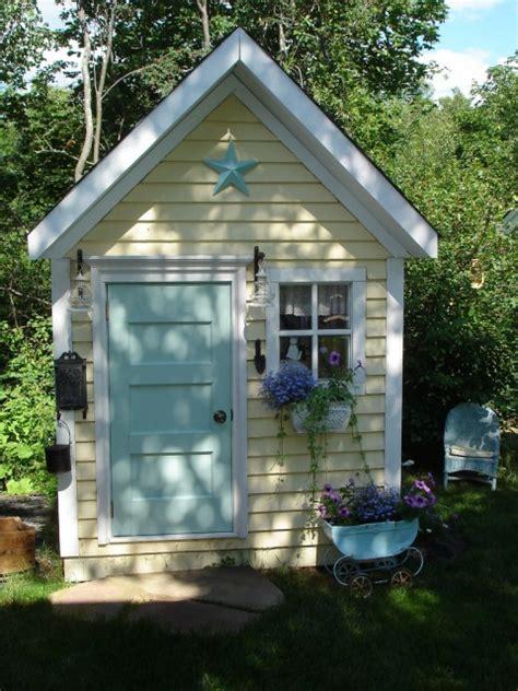cool garden potting sheds shelterness