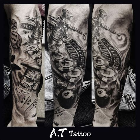 poker tattoos designs 25 best images about on chicano