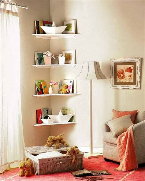 how to decorate a corner 25 space saving modern interior design ideas corner shelves maximizing small spaces