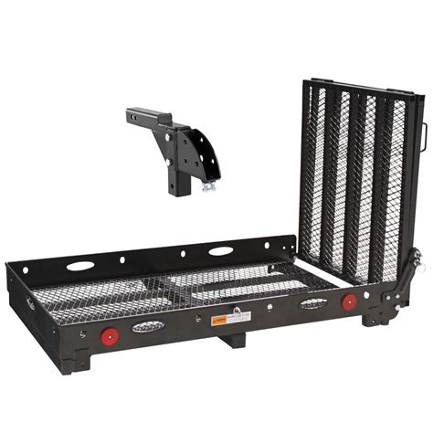 Wheelchair Rack Trailer Hitch by Adjustable Trailer Hitch Wheelchair Carrier 500lb