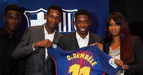 ousmane dembele criticised  engineering million barcelona move   nou camp target