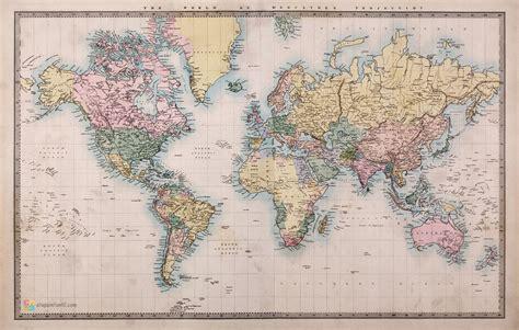 Best Quality Map A4 Bunga Murah mapamundi para imprimir