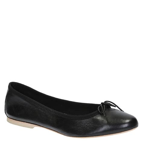 Italian Handmade Flats - handmade black soft leather ballet flats ballerinas shoes