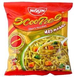 Nissan Noodles Nissan Scoopies Mad Masala Noodles 70gm